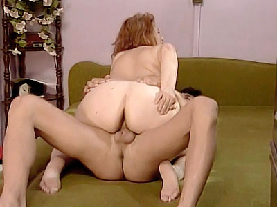 curvaceous Mature Rides a Cock