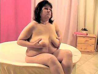 Lia is a plumper granny who loves to play with her tits She loves kneading and fondling them and I do too Just a little titty playing and this horny grandma was ready to suck my cock and open wide to receive my hard dick up her plump puffy pussy lips