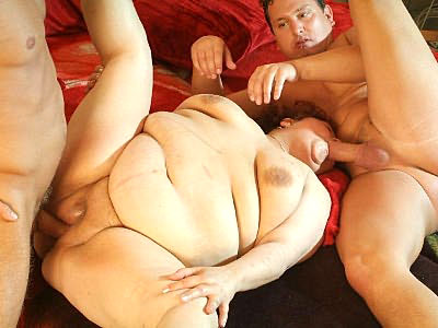 Mature Plumper Milking a working out his cock