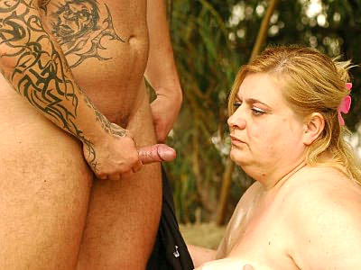 Mature Plumper Begging away a Cumshot